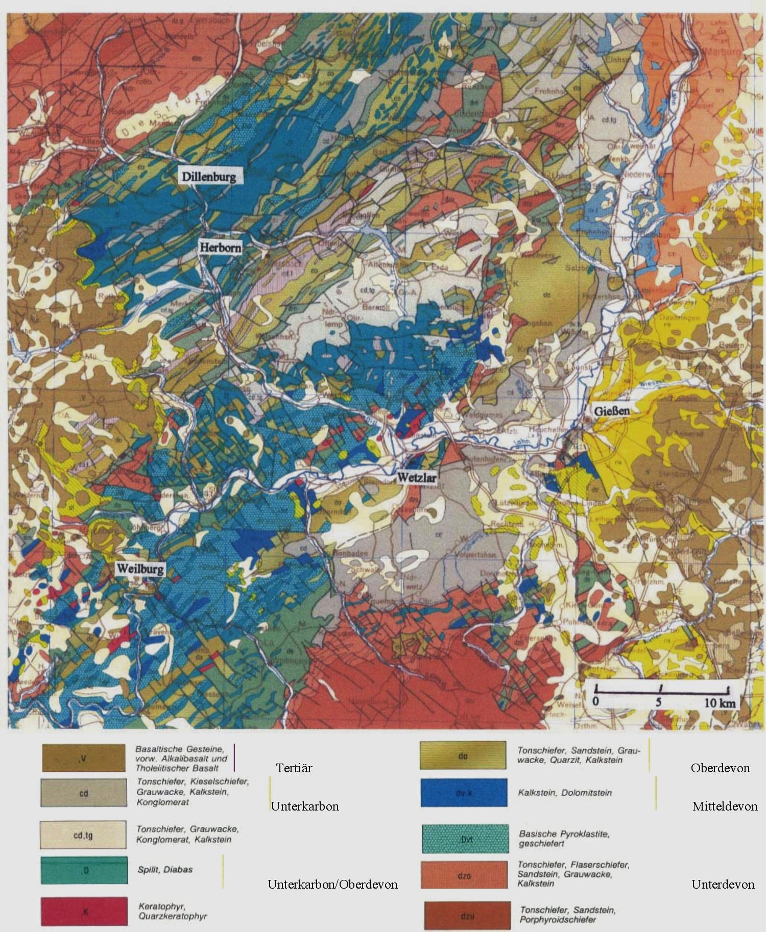 geologische karte hessen Geologie | Herborner Mineralienfreunde e.V. geologische karte hessen